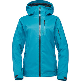 Black Diamond Boundary Line Mapped Isolierende Jacke Damen aqua verde